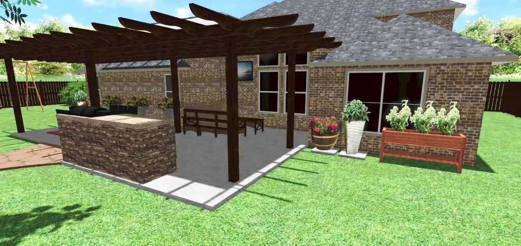 Landscaping Improvements at a DFW Home