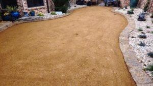 Preparing Backyard for Artificial Grass Installation