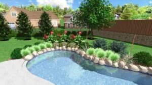 Upscale Backyard Landscape Design