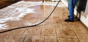 Cleaning Decorative Concrete