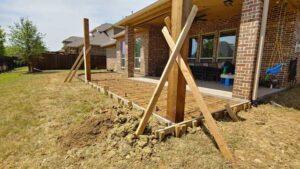 Installing Wood Pergola Posts
