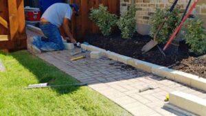 Ground Preparation for Landscape Rocks
