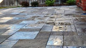Paver Patio Installation in Frisco, Texas