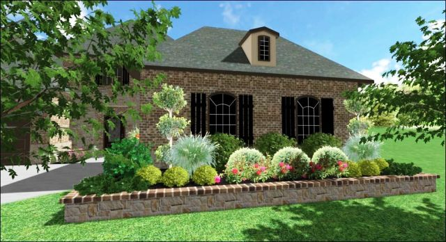 Landscape Design in The Colony, TX