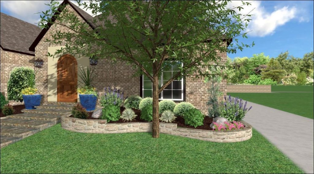 Landscaping a New North Dallas Home | New Home Landscaping