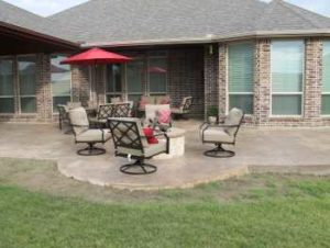 Outdoor kitchen, landscaping installation, outdoor bbq grill, bermuda sod grass