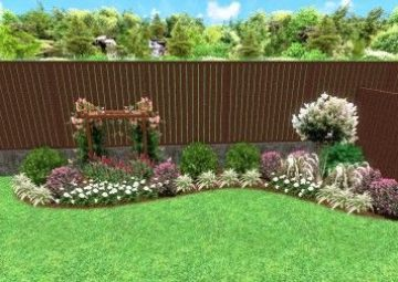 Backyard Landscaping Bed Design Frisco TX